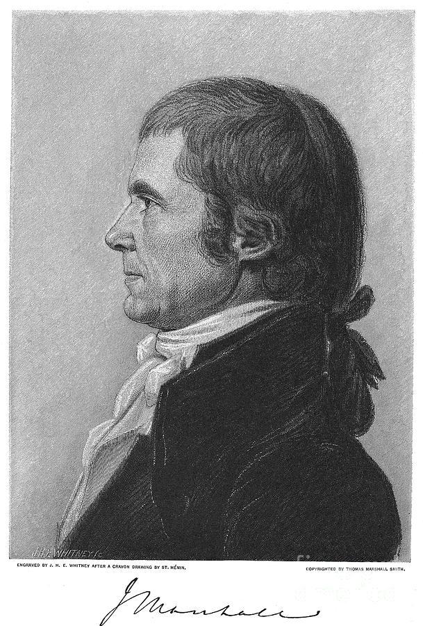 1808 Photograph - John Marshall (1755-1835) by Granger