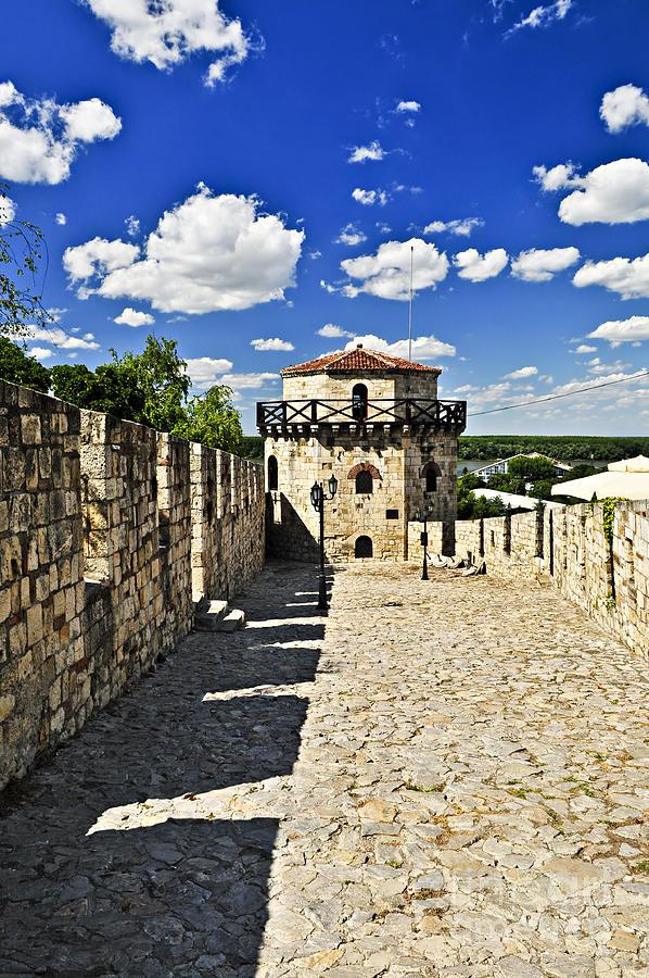Kalemegdan Fortress In Belgrade Photograph