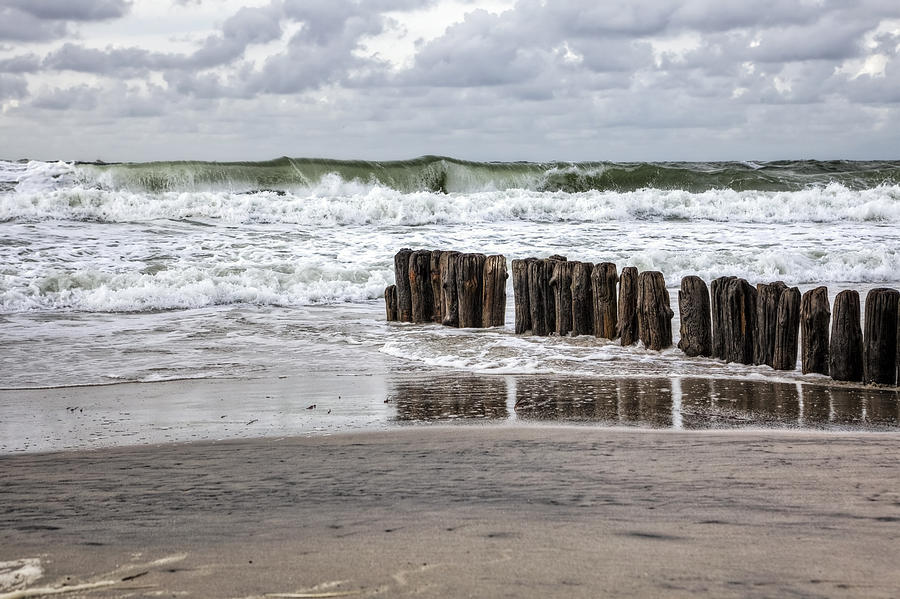 Beach Photograph - Kampen - Sylt by Joana Kruse