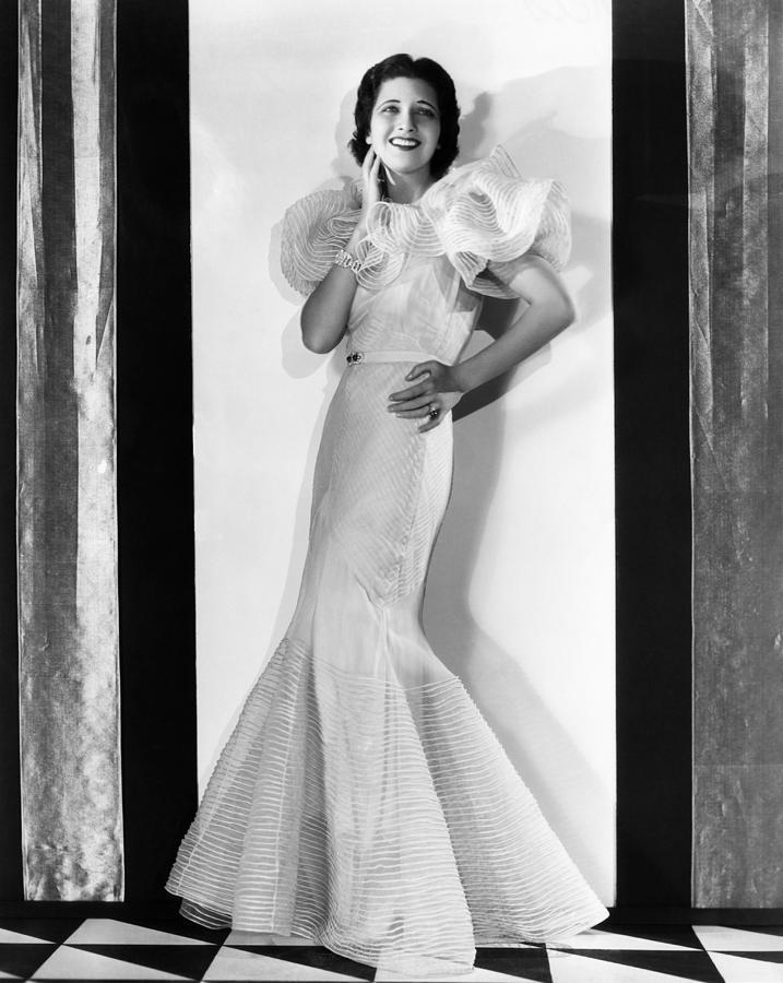 1930s Fashion Photograph - Kay Francis, Circa 1930s by Everett