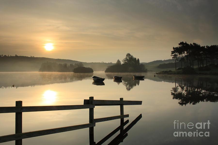 Knapps Loch Sunrise by Maria Gaellman
