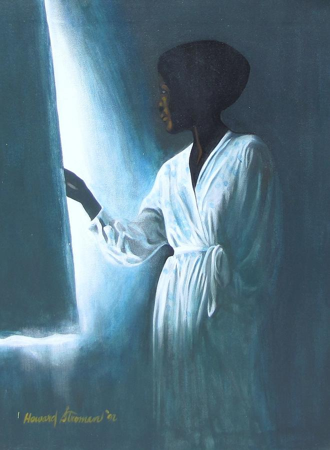Kuliema Painting by Howard Stroman