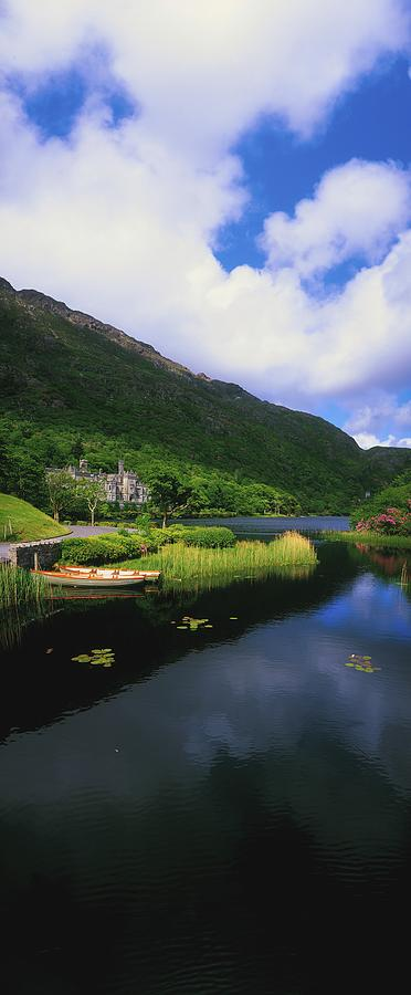 Architectural Heritage Photograph - Kylemore Abbey, Co Galway, Ireland by The Irish Image Collection