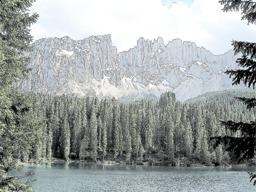 Europe Photograph - Lake Carezza Dolomites Italy  by Joseph Hendrix