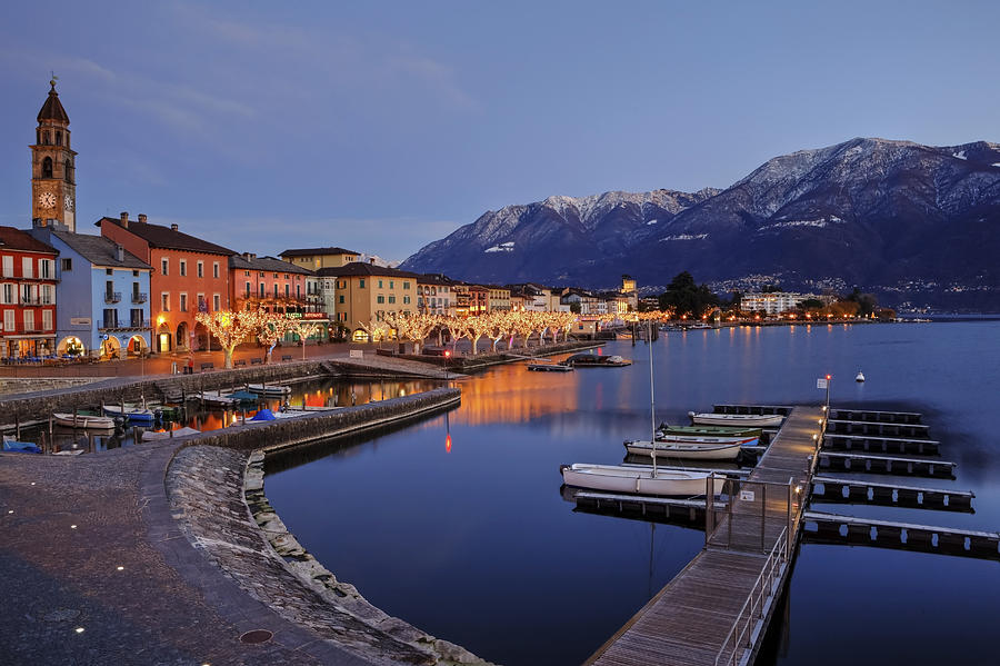Ascona Photograph - Lake Maggiore - Ascona by Joana Kruse