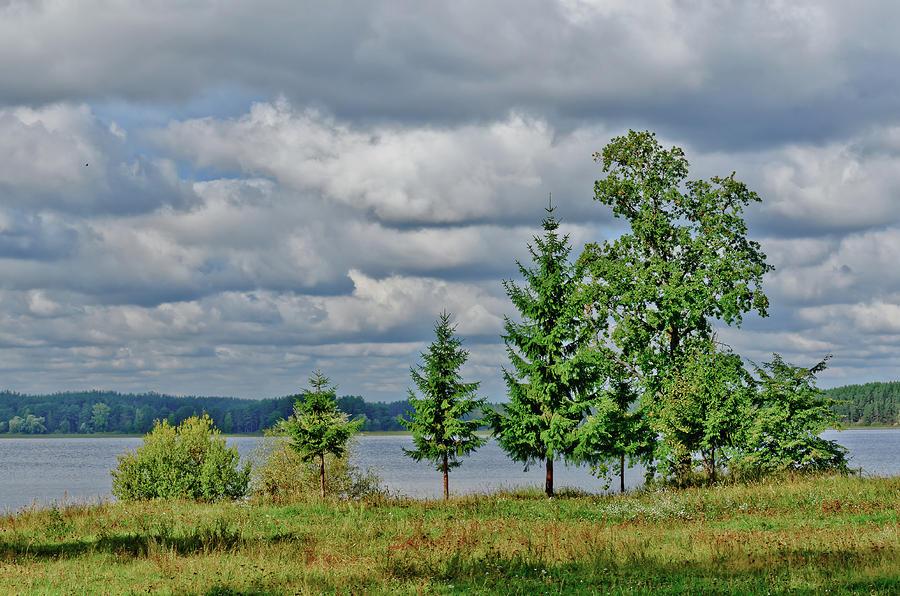 Autumn Photograph - Lake Seliger by Michael Goyberg