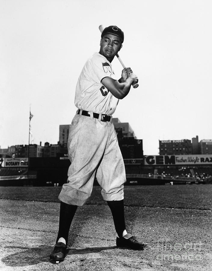 1951 Photograph - Larry Doby (1923-2003) by Granger