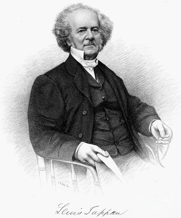 19th Century Photograph - Lewis Tappan (1788-1873) by Granger