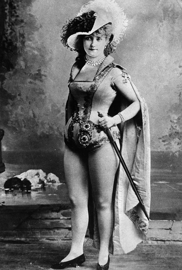 Lillian Russell (1861-1922) Photograph by Granger