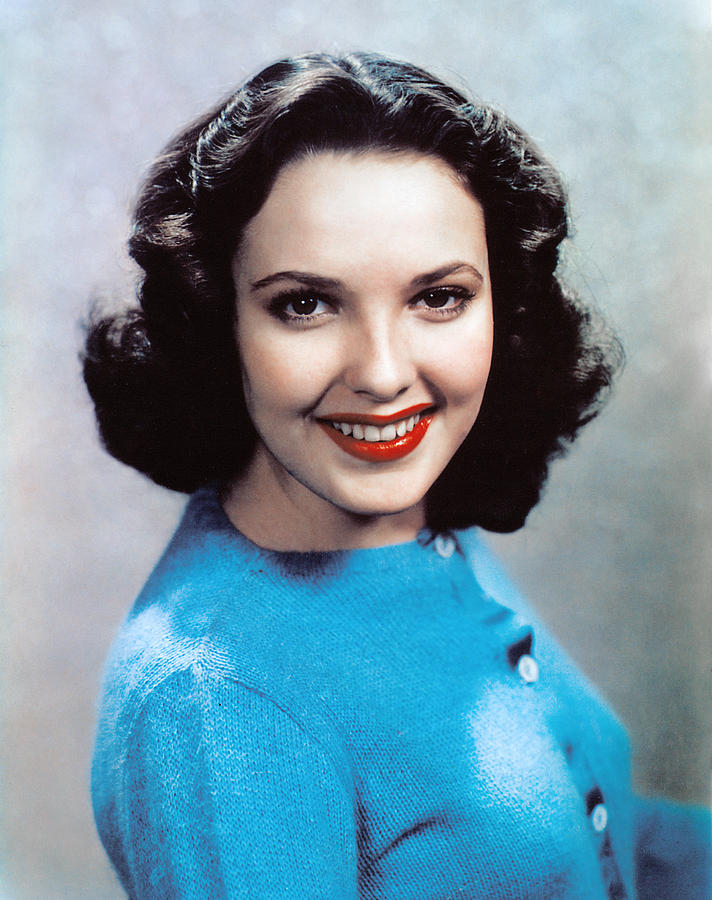 Linda Darnell 1940s Photograph By Everett