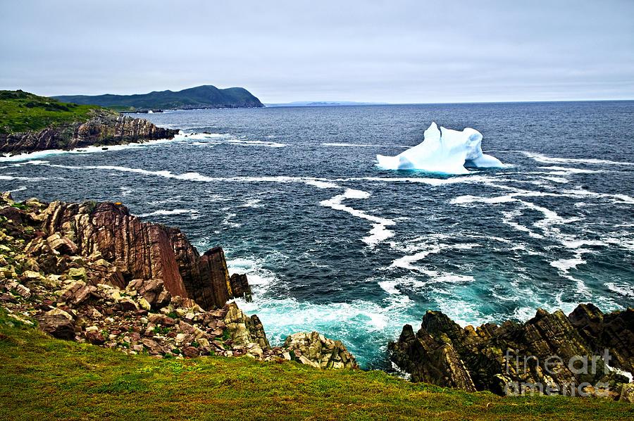 Iceberg Photograph - Melting Iceberg by Elena Elisseeva