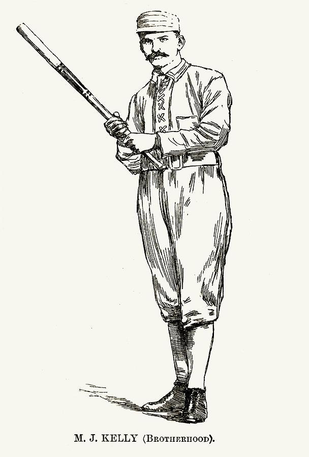 1890 Photograph - Michael Joseph Kelly by Granger