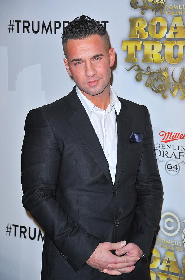 Party Photograph - Michael The Situation Sorrentino by Everett