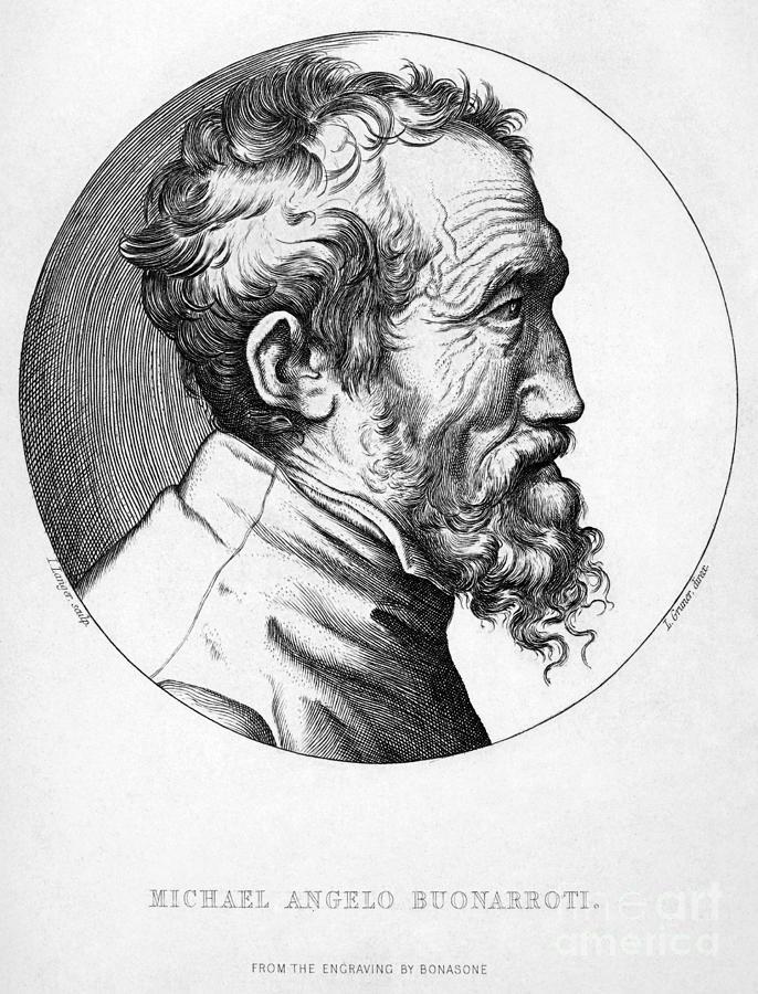 16th Century Photograph - Michelangelo (1475-1564) by Granger