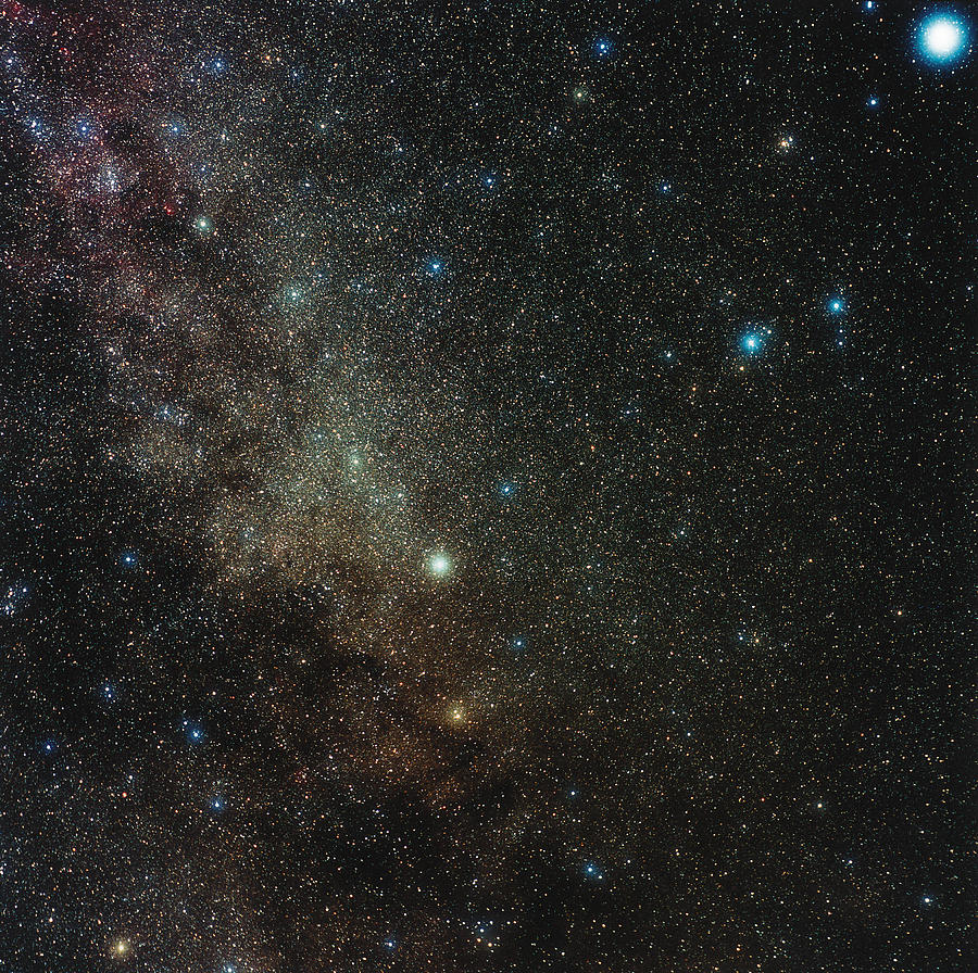 Milky Way Photograph - Milky Way In Cygnus by Eckhard Slawik