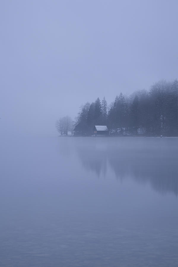 Bohinj Photograph - Misty Dawn by Ian Middleton