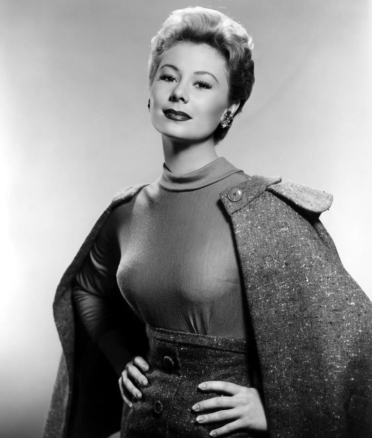 1950s Fashion Photograph - Mitzi Gaynor, Ca. 1950s by Everett