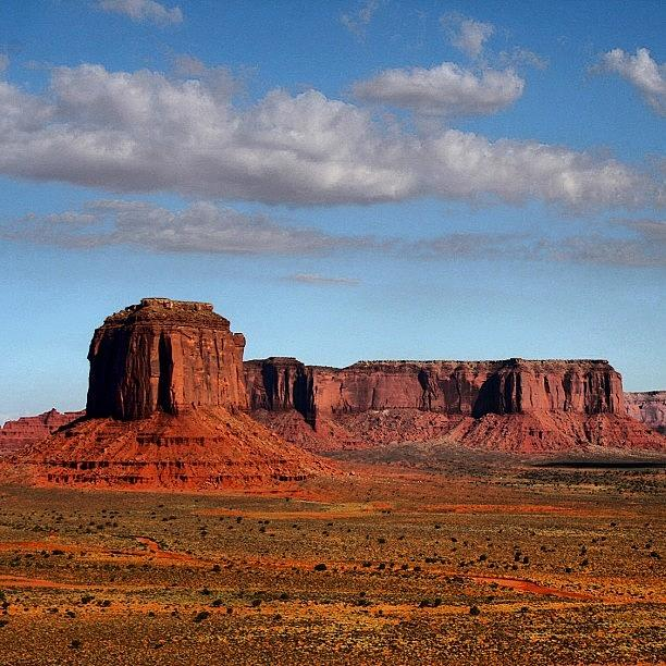Monument Valley Photograph - Monument Valley by Luisa Azzolini