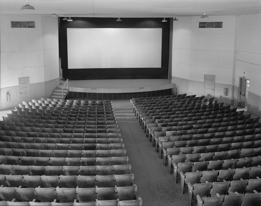 1940s Photograph - Movie Theaters, The Fort Mccoy by Everett