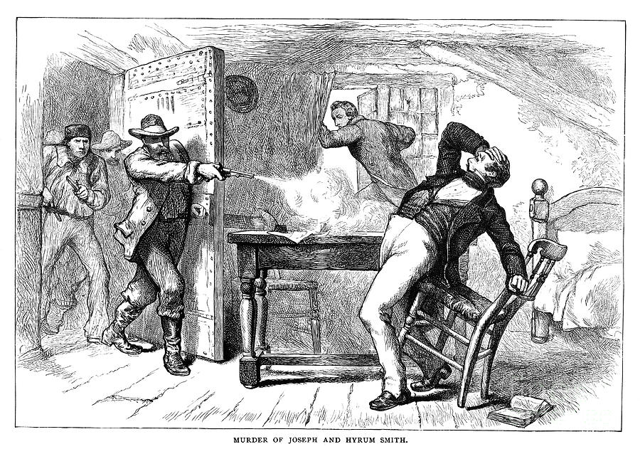 1844 Photograph - Murder Of Smith, 1844 by Granger