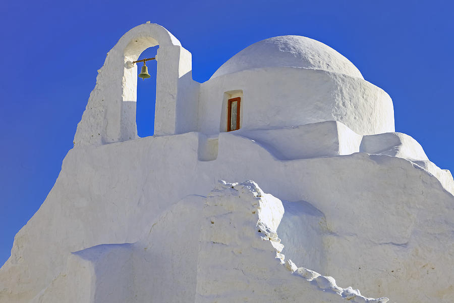 Church Of Panagia Paraportiani Photograph - Mykonos by Joana Kruse