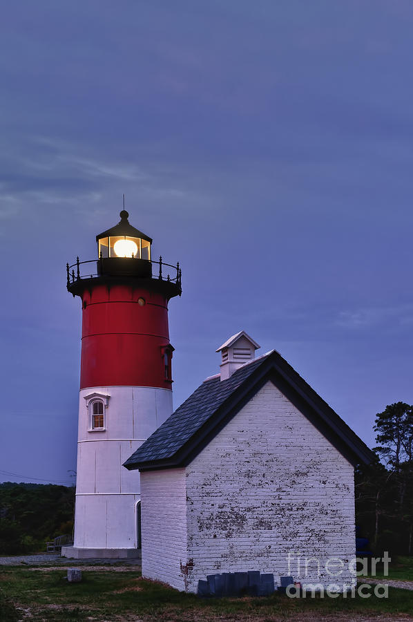 Cape Cod Photograph - Nauset Lighthouse by John Greim