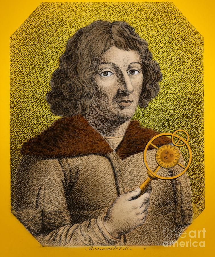 History Photograph - Nicolaus Copernicus, Polish Astronomer by Omikron