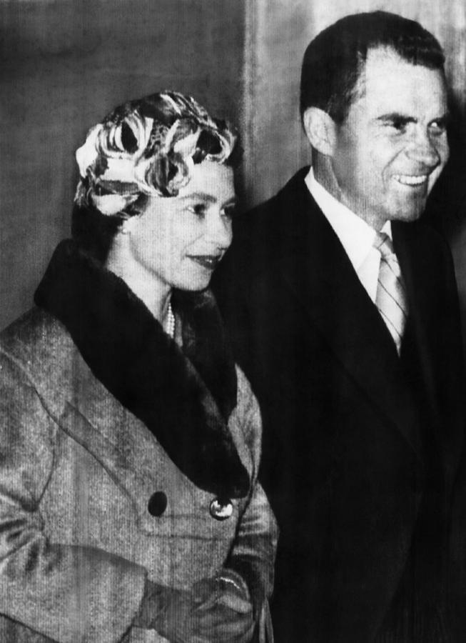 1950s Photograph - Nixon Vice Presidency.  Vice President by Everett