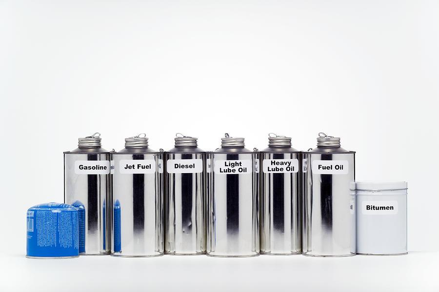 Kerosine Photograph - Oil Products by Paul Rapson