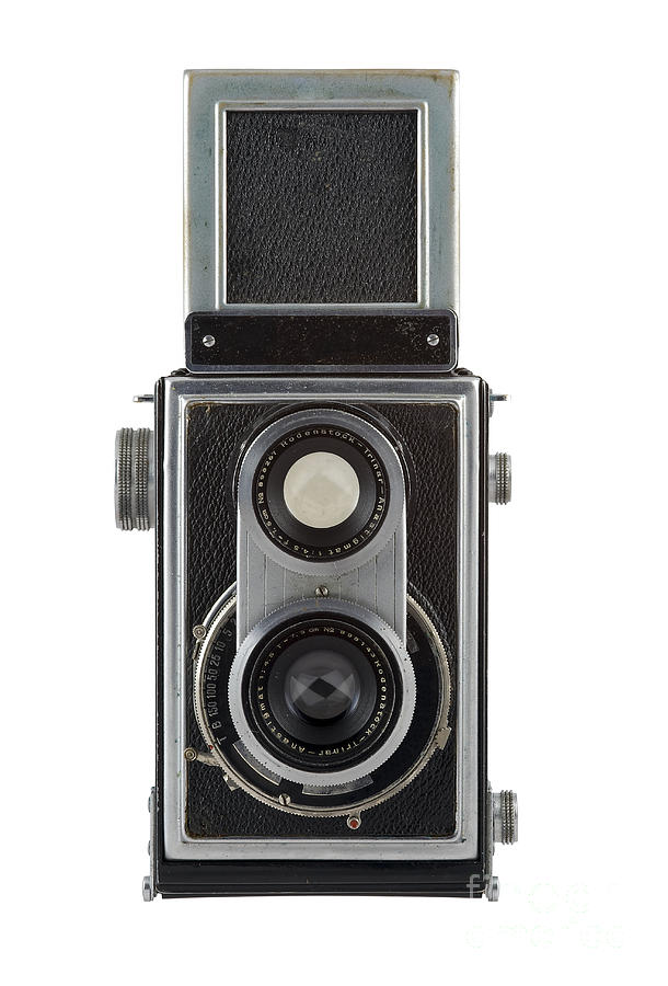 Camera Photograph - Old Camera by Michal Boubin