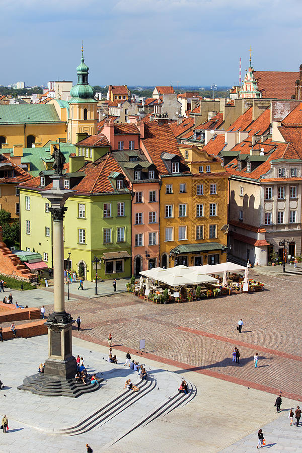 Architecture Photograph - Old Town In Warsaw by Artur Bogacki