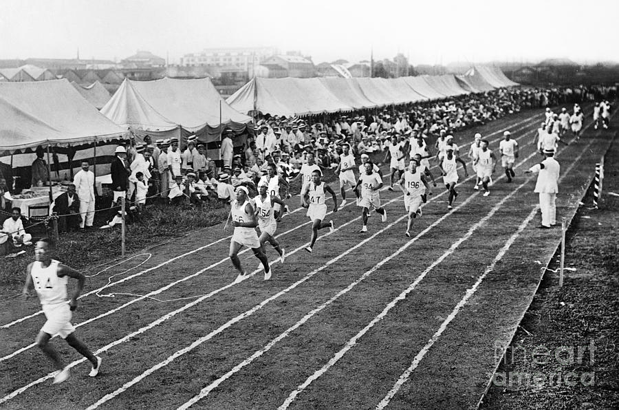 1912 Photograph - Olympic Games, 1912 by Granger
