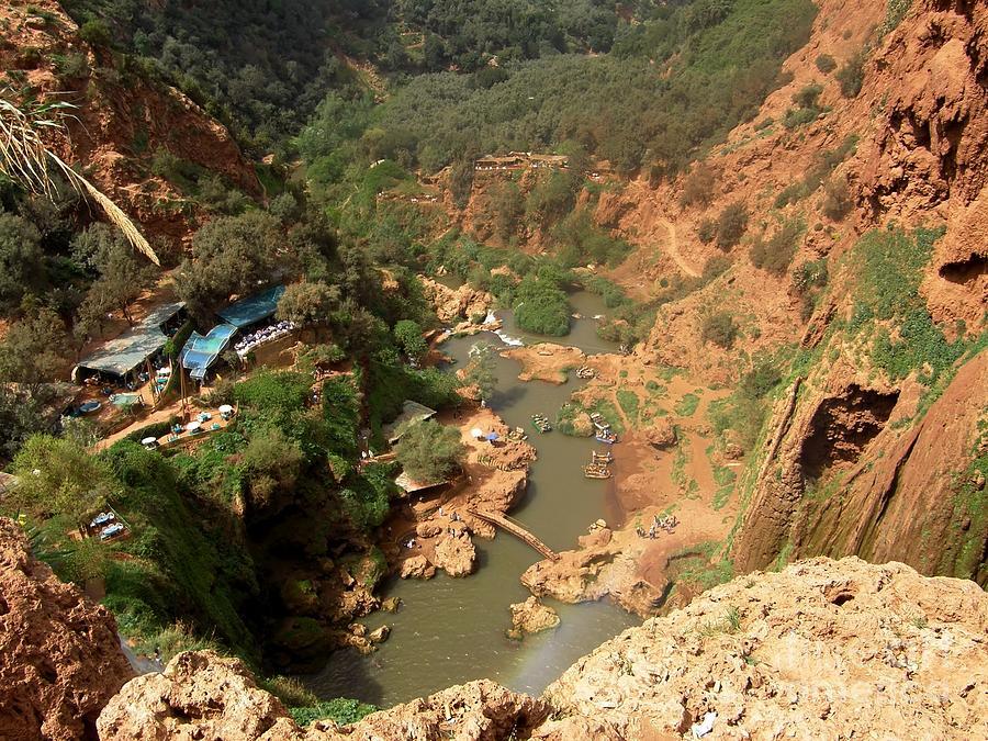 Ouzoud Falls Photograph - Ouzoud Falls Morocco by Sophie Vigneault
