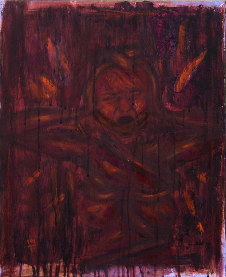 Pain Painting by Rosemen Elsayad