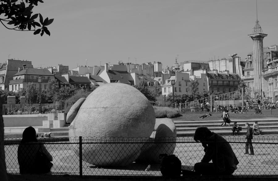 Paris Photograph - Paris by Marina Kostina