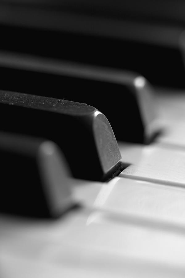 Piano Keys Photograph - Piano Keys by Falko Follert