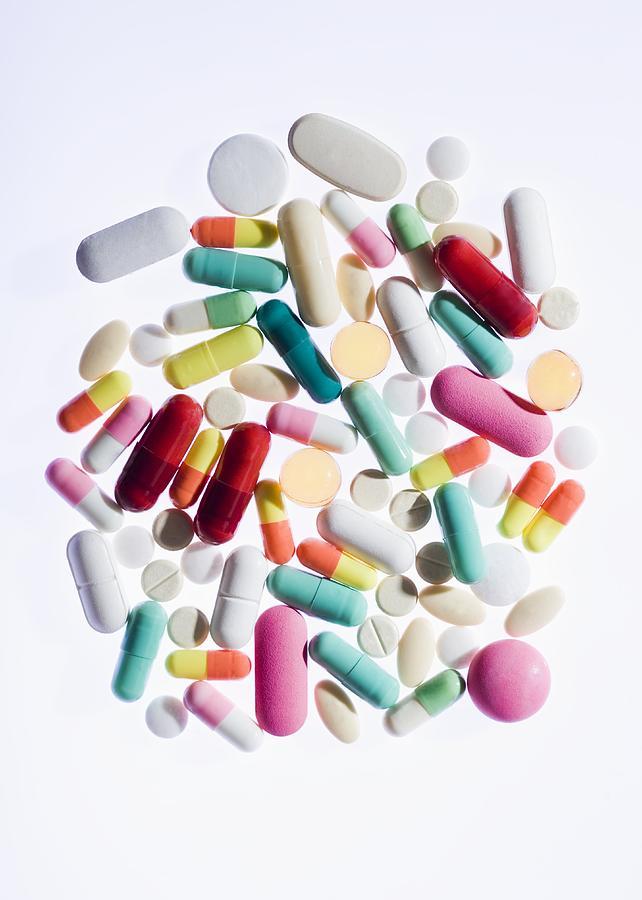 Abundance Photograph - Pills by Cristina Pedrazzini