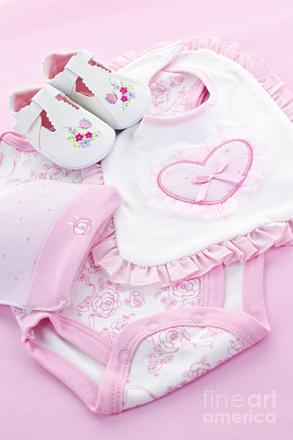 Pink baby clothes for infant girl photograph by elena elisseeva baby clothes photograph pink baby clothes for infant girl by elena elisseeva negle Image collections