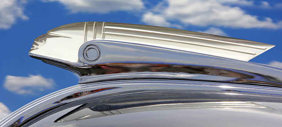 Transportation Photograph - Pontiac Hood Ornament by Mike McGlothlen