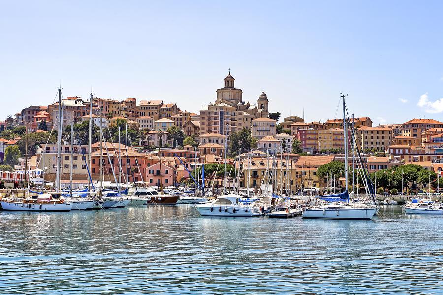 Porto Maurizio Photograph - Porto Maurizio - Imperia by Joana Kruse