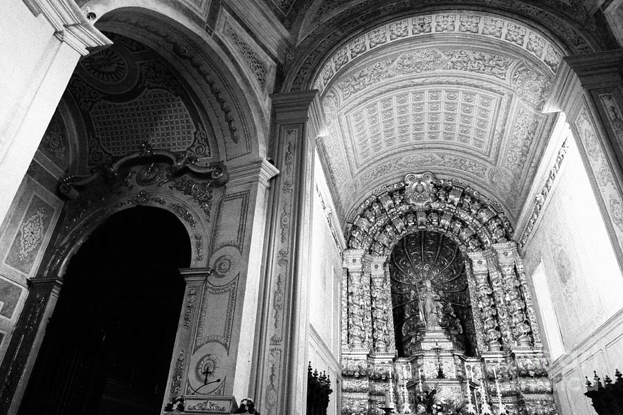 Arch Photograph - Portuguese Church by Gaspar Avila