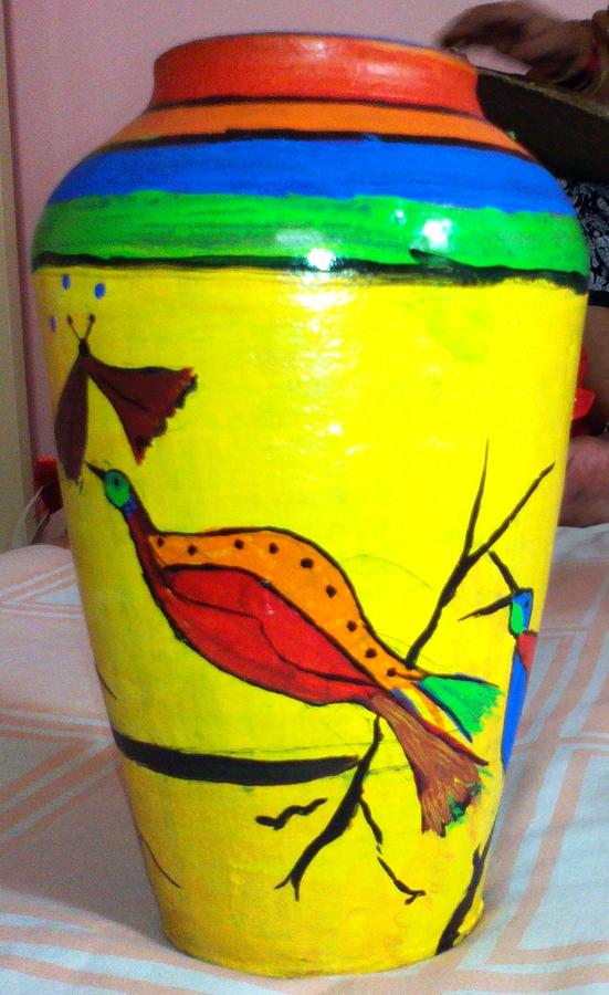 Ceramic Art - Pottery Painting by Sonali Singh