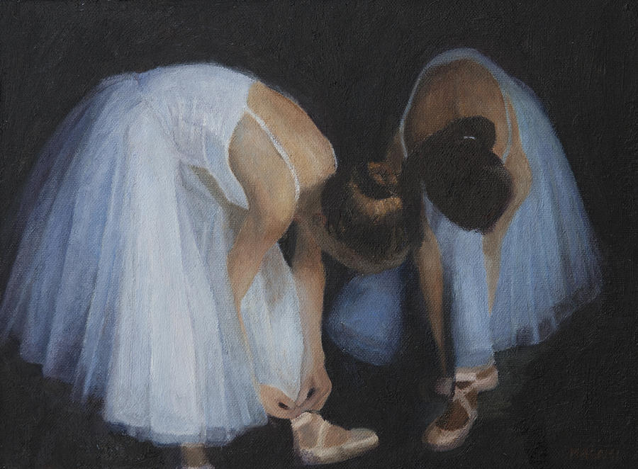 Ballet Painting - Preparation by Masami Iida