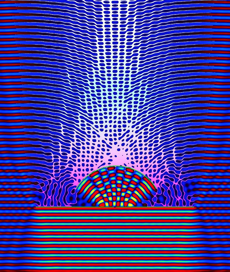 Resonance Photograph - Quantum Resonance by Eric Heller