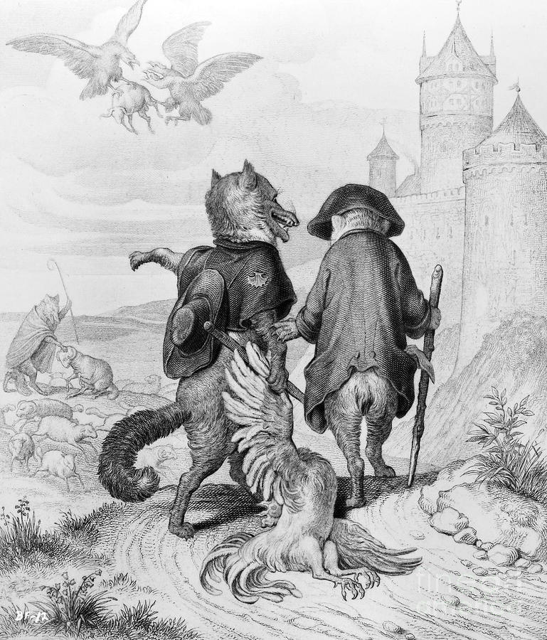 Reynard The Fox, 1846 is a photograph by Granger which was uploaded on ...