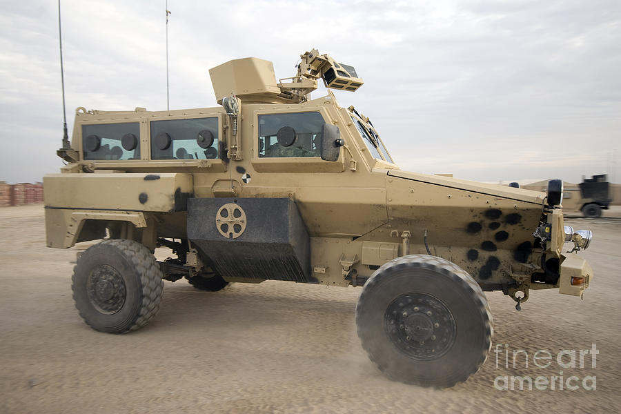 Rg 31 Nyala Armored Vehicle Photograph By Terry Moore