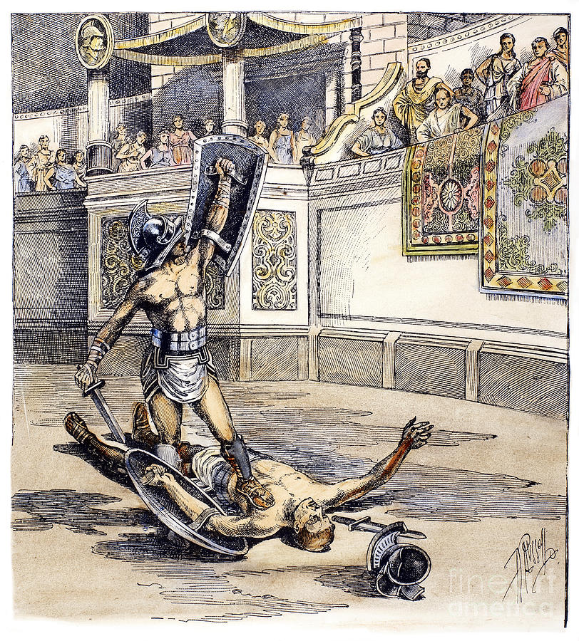 a discussion on the roman gladiators Top 10 famous ancient roman gladiator that draw attention of thousand of roman  spectator roman gladiators were the athletic superstar.