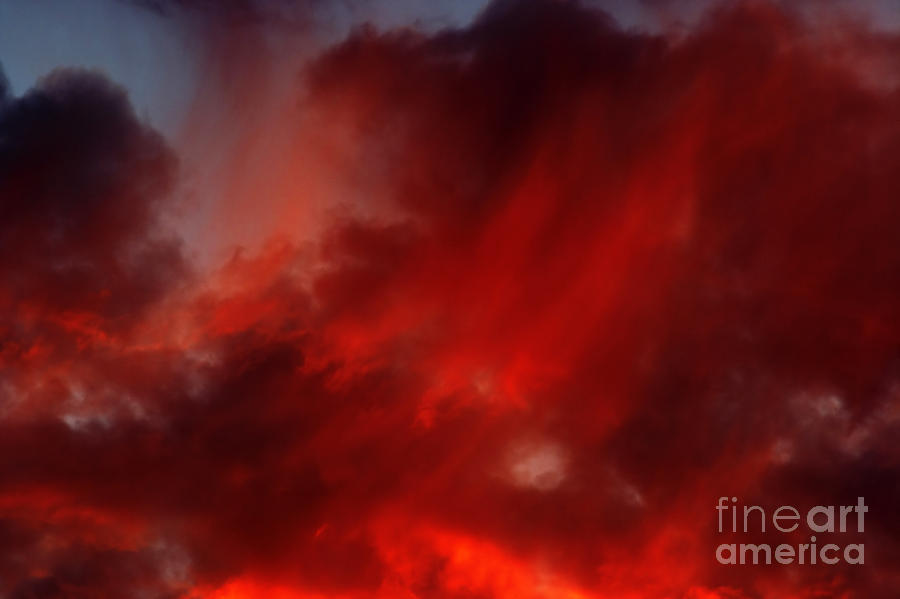 Gloaming Photograph - Rosy Sky by Michal Boubin