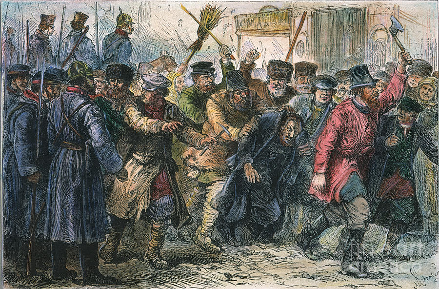 Russia Pogrom 1881 Photograph By Granger