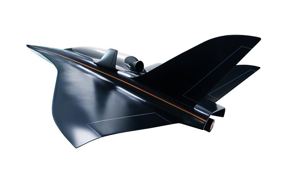 Aerodynamics Photograph - Saenger Horus Spaceplane, Artwork by Detlev Van Ravenswaay